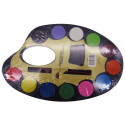 12 Artist Palette Color