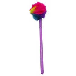 Rainbow Fur Pen