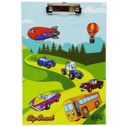 Cars Clip Board A4