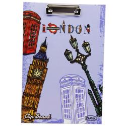 London Clip Board A4