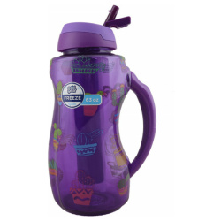 Freezer Stick Water Bottle 1.8L- Purple