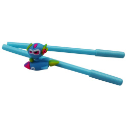 Double Pens with Flying Toy at the Top - Random Pick