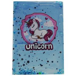 Water Unicorn Notebook A6