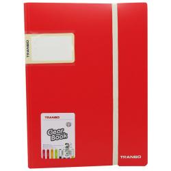 Tranbo Clear Book Holder - 40 Sheets Portfolio