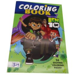Ben 10 Coloring Book