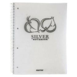 Silver Note Book A4