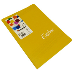 A4 Excluso Lined Pin French Note Book - 60 Sheet