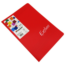 Excluso French Seyes Note Book -72 Sheet