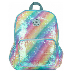 Sequins 18 inch Backpack - Rainbow