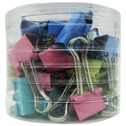 Binder Clips Colors 1.9 Cm - 40Pcs