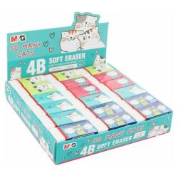 Cats Soft Eraser - Random Pick