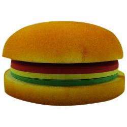Sticky Note Big Burger Shape