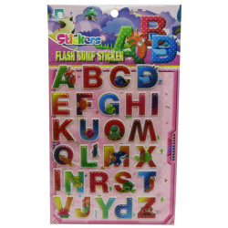 Stickers Flash Bump Alphabet