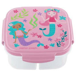 Snack Box With Ice Pack - Mermaid