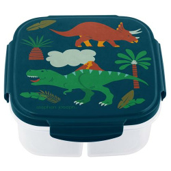 Snack Box With Ice Pack - Dinosaur