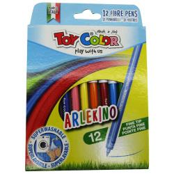 12 Fibertip Colors