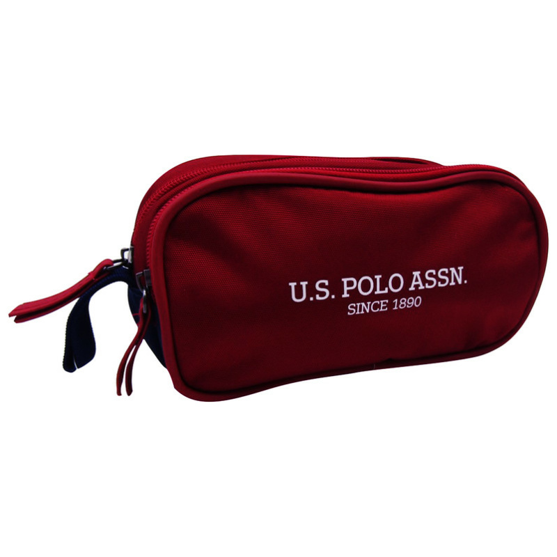 Pencil Case - Navy & Red