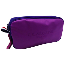 Pencil Case - Purple & Rose Writing