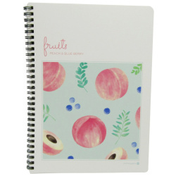 Fruits Wired Note Book - Random Pick