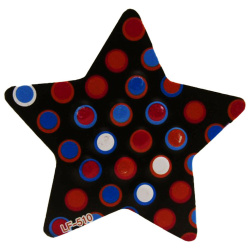 Magnetic Duster And Whiteboard Eraser - Star