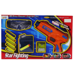 All New Power Gun Series Star Fighting-Orange