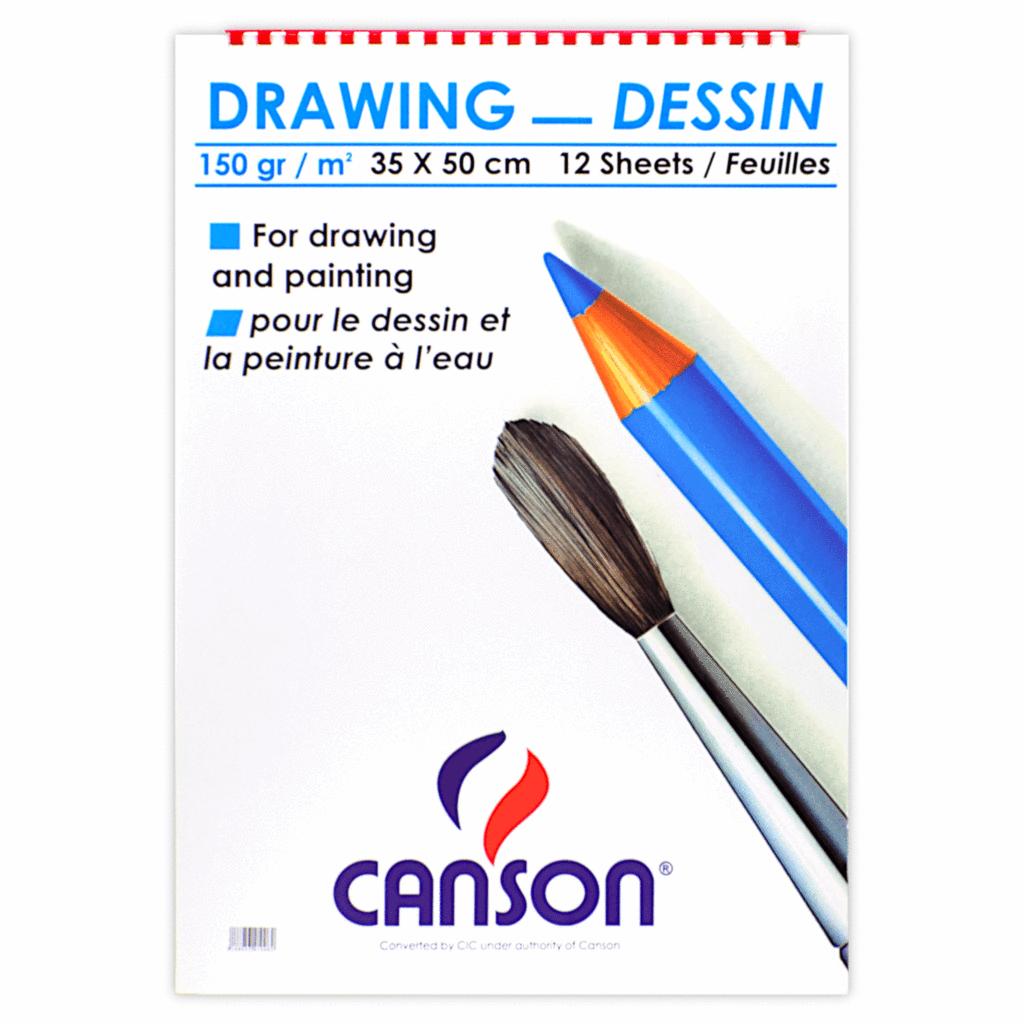 Drawing Sketch 35x50 - White