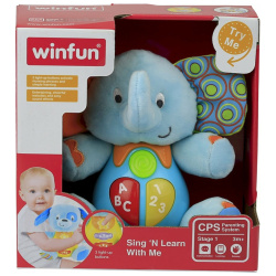 Sing & Learn With The Amazing Elephant with Sound & Lights