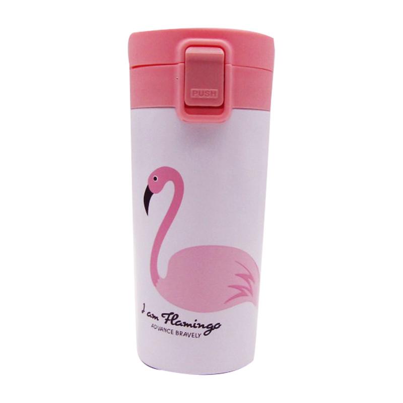 Easy Cap Thermal Mug 380ML - Iam Flamingo