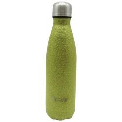 Glitter Stainless Steel Bottle 500ML - Gold