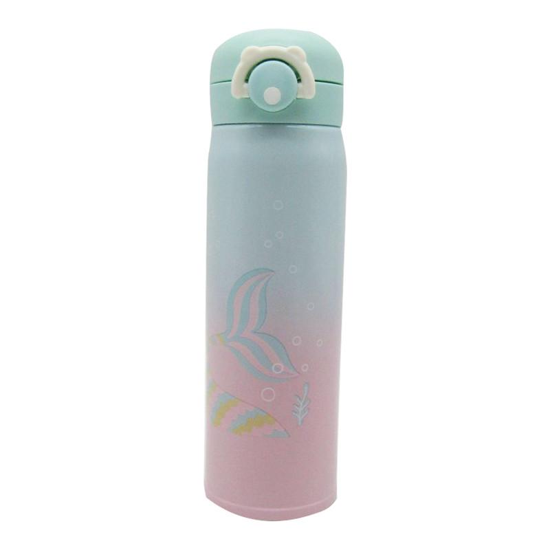 Stainless Steel Bottle 500ML- Mermaid Green