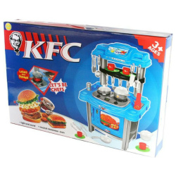 KFC Jumbo Fast Food with Sounds & Lights - 59 Pcs