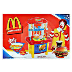 Mcdonalds Jumbo Fast Food with Sounds & Lights