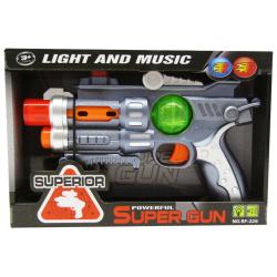 Powerful Super Gun with Lights & Music