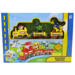 Paw Patrol Electric Train - 19 Pcs