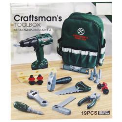 Crafts Man Tool Box - 19 Pcs