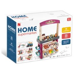 Home Super Market with Lights & Sounds - 55 Pcs