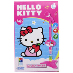 Microphone Music & Light - Hello Kitty