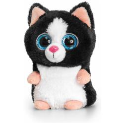 Mini Motsu Cat -  Black 10 CM