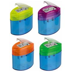 Elliptical Sharpeners With Flap 2 Hole - Random Color