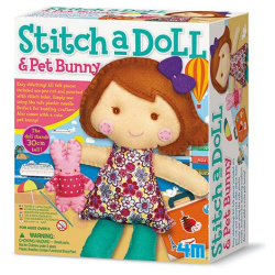 Stitch A Doll & Pet Bunny