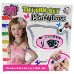 Its My Love Tattoo Set