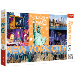 Neon city Puzzle - 1000 Pieces