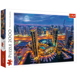 Lights Of Dubai Puzzle - 2000 Pieces