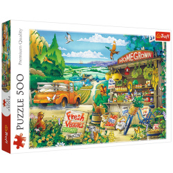 Morning In The Countryside - 500 Pieces