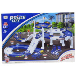 Police City Kid Cars 3D-51 PCS