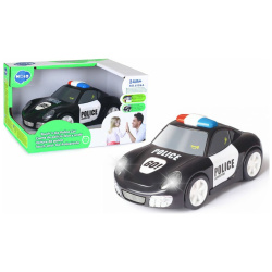 Touch & Go Car with Lights and Sounds - Police Car