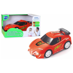 Touch & Go Car with Lights and Sounds - Red Racing Car