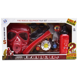 Fire Rescue Equipment Play Set
