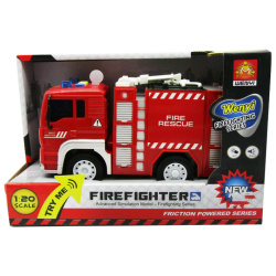 Fire Fighter Rescue Truck with Sounds & Lights