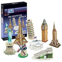 Mini Architecture Series 4 - 72 Pcs